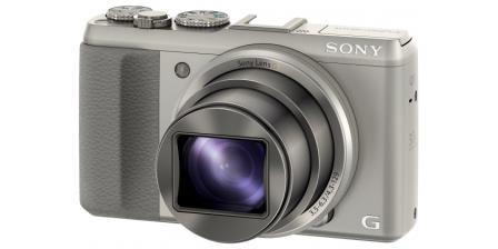 """SONY DSC-HX50 20,4 MP, 30x zoom, 3"""" LCD - SILVER"""