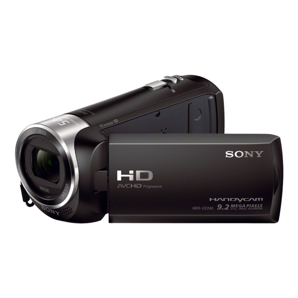 "SONY HDR-CX240 - videokamera 27x zoom, 2,7"" Full HD, Black"