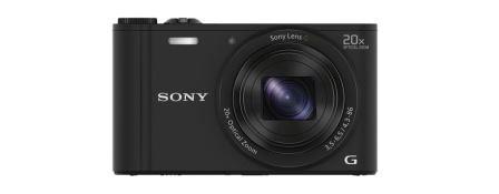 """SONY DSC-WX350 18,2 MP, 20x zoom, 3 """" LCD - BLACK"""
