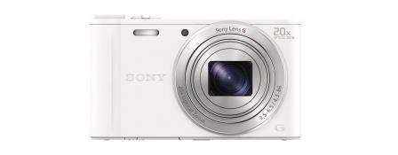 """SONY DSC-WX350 18,2 MP, 20x zoom, 3 """" LCD - WHITE"""