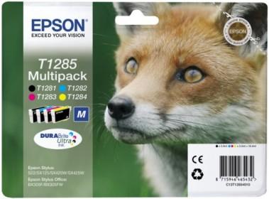 EPSON cartridge T1285 (black/cyan/magenta/yellow) multipack