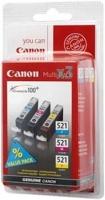 Canon cartridge CLI-521 C/M/Y MultiPack (CLI521CMY)