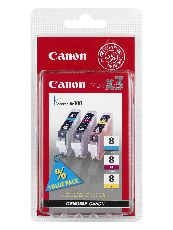Canon cartridge CLI-8 C/M/Y MultiPack (CLI8CMY)