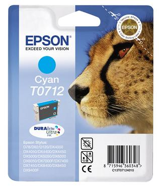 EPSON cartridge T0712 cyan