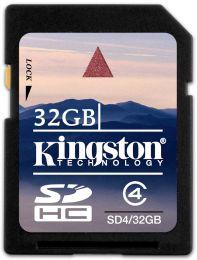 KINGSTON 32 GB SDHC Memory Card - High Capacity Class 4
