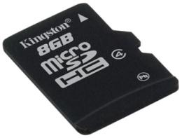 KINGSTON 8GB microSDHC Memory Card Class 4 bez adapteru