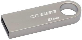 KINGSTON 8GB USB 2.0 DataTraveler SE9 (Kovový)