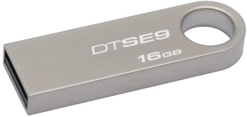 KINGSTON 16GB USB 2.0 DataTraveler SE9 kovový