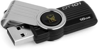 KINGSTON 16GB DataTraveler 101 Generace 2 (Černý)