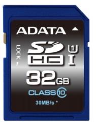ADATA SDHC UHS-1 karta 32GB Class 10 (až 30MB/s)