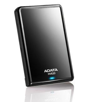ADATA HV620 DashDrive 500GB ext, HDD 2,5'', USB 3,0, černý, lesklý