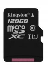 Kingston micro SDXC karta 128GB Class 10 UHS-I + adaptér