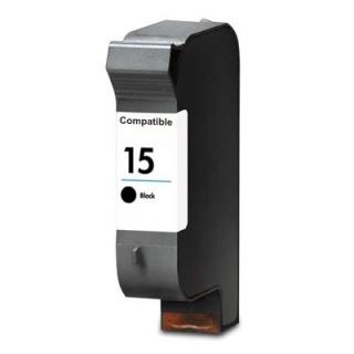 HP č. 15 C6615D černá, kompatibilní cartridge