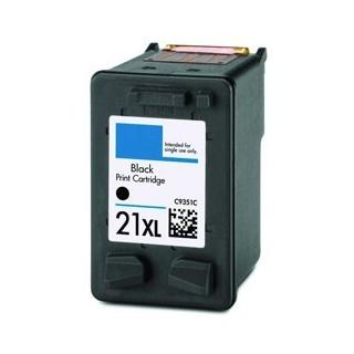HP č. 21 C9351A černá, kompatibilní cartridge