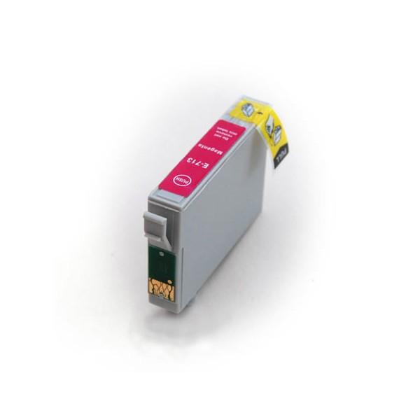 Epson T0713 červená, kompatibilní cartrige