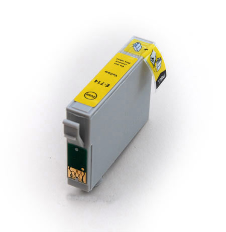 Epson T0714 žlutá, kompatibilní cartrige
